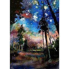 SKRYUIE DIY Rhinestone Pasted Paint with Diamond Set Arts Craft Decorations 5D Diamond Painting in The Spring of The Frog Full Drill by Number Kits for Adults 12x16inch