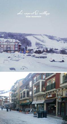 Blue Mountain Ski Resort www.oomphlove.blogspot.ca  #skiandsnow #lodge #resort #bluemountain #travel #ontario #ontariotourism #travelguide #canada #whattosee #outdooradventures Ontario Travel, Summer Vacations, Blue Mountain, Travel Guide, Skiing, Tourism, Canada, Winter, Places