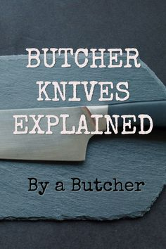 Do you know the difference between a fillet knife and a steak knife? In this article, I will discuss butcher knives and how they differ from kitchen knives. A Butchers steak knife is not the same as a restaurant's steak knife or a chef's knife. Restaurant Steak, Pocket Knife Brands, Best Chefs Knife, Butcher Knife, Meat Butcher, Knife Making Tools, Fillet Knife, Sandwich Cake, Best Meat