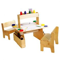 Double All in One Art Table
