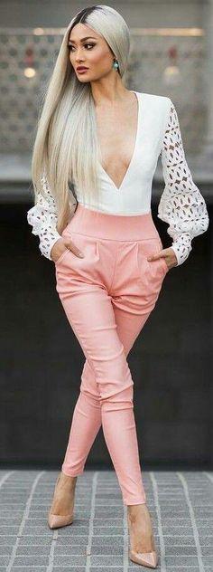 240 Ideas De Pantalones Cintura Alta Moda Para Mujer Moda Ropa