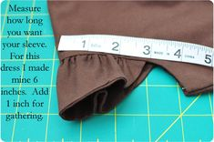 Simple Simon & Company: excellent tutorial...how to make flutter sleeves