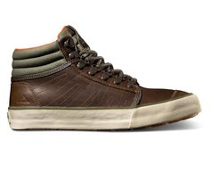 Outback Oiled Leather - Brown/Olive