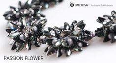 Passiflora - free pdf from Preciosa-Ornela ~ Seed Bead Tutorials