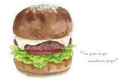 gb mozzarella burger