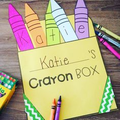 This fun name craft also doubles as a name puzzle - perfect for back to school!
