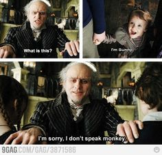 """Lemony Snicket's a Series of Unfortunate Events"", (2004).  I loved this movie!"
