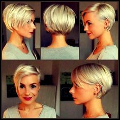 42 Best Short Bob Cuts for Get Your Haircut Inspiration Today! 42 Best Short Bob Cuts for Get Your Haircut Inspiration Best Short Bob Cuts for Get Your Haircut Inspiration Today! Short Pixie Haircuts, Pixie Hairstyles, Hairstyles 2018, Cheveux Courts Funky, Short Hair Model, Pelo Pixie, Pixie Bob, Haircut For Thick Hair, My Hairstyle