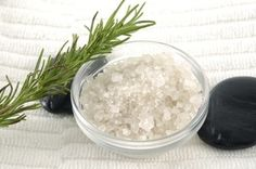 This is a fast, inexpensive DIY anti-aging rosemary body scrub. It is ideal for dry skin and has anti-aging benefits.