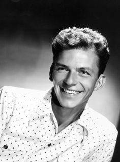 Frank Sinatra, 1945.