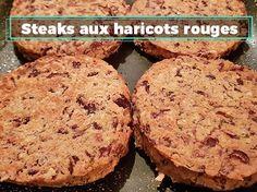 Steaks veggie aux haricots rouges ! Une recette facile et pleine de saveurs. #letskicktoday #recette #steak #veggie #vegetarien #food #recipe #recipeoftheday