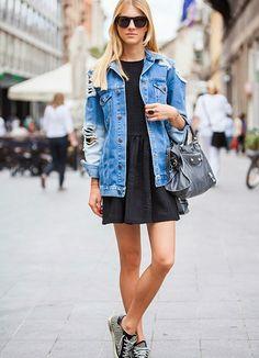 стритстайл с джинсовыми куртками: 16 тыс изображений найдено в Яндекс.Картинках