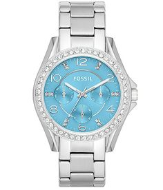 Fossil Riley Watch - Women's Watches   Buckle