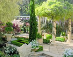 Tuscan garden ideas