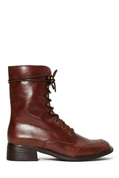 Jeffrey Campbell Warfield Lace Up Boot at Nasty Gal