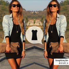 E no final das contas a gente sempre agradece por ter um #pretinhobásico no guarda roupa  #vestidomontenegro