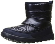 BOBS from Skechers Women's Mementos-Angel Face Winter Boot, Navy, 8 M US: Amazon.ca: Chaussures et sacs à main