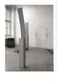 Jan Stolín, Installation, Academy of Arts, Architecture and Design in Prague, 1991