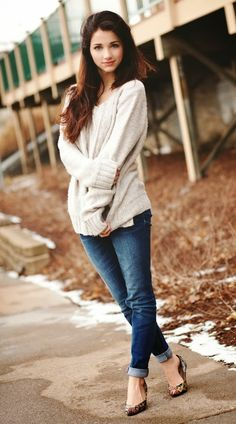 Comfy fall outfit. http://www.thredup.com/r/FH7BQN Get $10 off your Thredup order when you use my referral link.