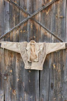 skórzana jesienna kurtka z frędzlami od Kingdom of Vintage