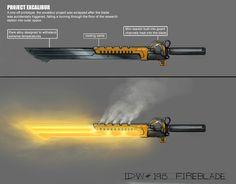 Weapon Art. Superheated Sword