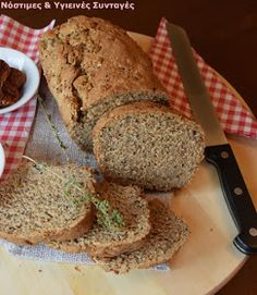 Ψωμί Archives - Miss Healthy Living Bread Art, Healthy Snacks, Healthy Recipes, Bread Rolls, How To Make Bread, Deli, Banana Bread, Food Processor Recipes, Healthy Living