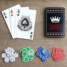 Juego de poker magnético de bolsillo | Tecniac