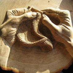 Carved from wood~