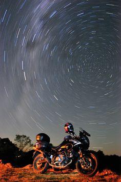 V-strom night sky