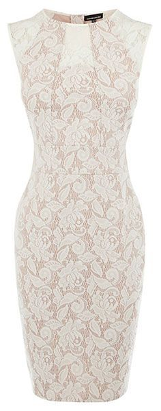 lace pencil dress. So cute