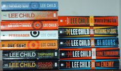 Jack Reacher books:  I recommend they be read in the order that Lee Child wrote them.