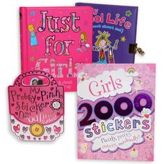 just for girls books $5