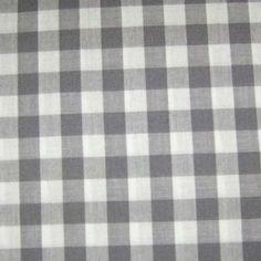 Γγρ│ Vichy grands carreaux gris