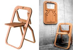 Desile Folding Chair: Remodelista