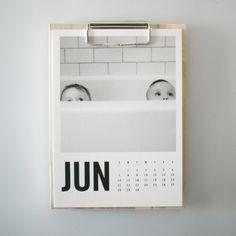 Wood Calendar (Modern)