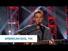 "▶ Arena Anthems: Clark Beckham, ""Boyfriend"" - AMERICAN IDOL XIV - YouTube"