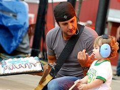 Luke Bryan Wedding | Luke Bryan's Little Taste Tester – Moms & Babies – Moms & Babies ...