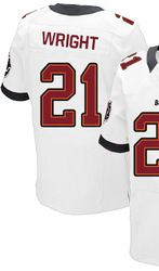 c9012872d ... 78.00--Eric Wright White Elite Jersey - Nike Stitched Tampa Bay  Buccaneers 21 ...