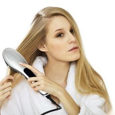 Premium Hair Straightening Brush – Instant Silicone Hair Straightener – Faster Results Than A Flat Iron – Great Gift – Marquee Defrizz Hair Straighter (Silver) * Thanks a lot for having visited our photograph. (This is our affiliate link) Hair Straightener Brands, Hair Straightening, Heated Hair Brush, Ionic Hair Dryer, Hair Iron, Hair Tools, Beauty Essentials, Flat Iron, Straight Hairstyles