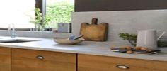 Peindre un plan de travail cuisine en bois, stratifié ou mélaminé avec la peinture à effet pierre de Libéron, Présentation et DIY Déco