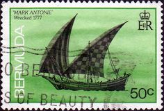 Bermuda 1986 Ship Wrecked in Bermuda SG 516 Fine Used SG 516 Scott 491 Other British Commonwealth Empire and Colonial stamps Here