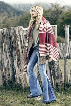 *Tapado Africa *Sweater Delfina *Jean Oxford Mila *Chal Torva #FancyNomad #IndiaStyle #Colección #Lookbook #FW16