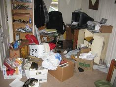 How to Declutter and Organize a Whole House- feels a little excessive like how to not be a hoarder, but some useful reminders.