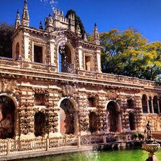 Galería del Grutesco - Reales Alcázares - Sevilla