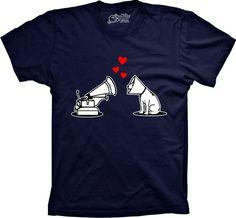 Use Camisetas - A sua loja de Produtos Criativos e Inteligen Camiseta Amor De Cão