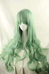 matcha green wig