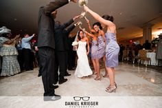 The bride is introduced at her wedding http://beautifulbrownbride.blogspot.com/