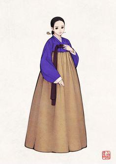 한복x시대 | 20C | 여성 한복 | 흑요석