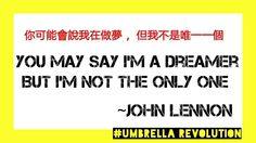 You may say I'm a dreamer, but I'm not the only one~John Lennon