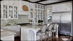 A simple French kitchen in a Southern farm house.